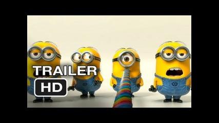 Despicable Me 2 - Official Teaser Trailer (2013) Hd