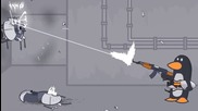 Turret Error Animated Music Video - Portals and a Penguin