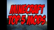 Top 5 Mods For Minecraft 1.4.7