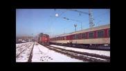Бв 2655 с локомотив 44 102 и 07 087 с товарен влак