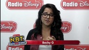 "Becky G. - Roshon Fegan - The Mcclain Sisters - ""n.b.t."" Shout Out"