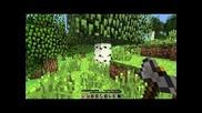 Kid vs minecraft (2.ep)-building a house
