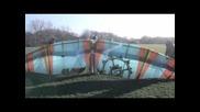 Testflight с крила, направени от едно хвърчило