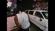 John Cena и Cryme Tyme унищожи лимузина на Jbl