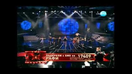 X Factor Bulgaria Rafi Just a Gigolo 11.12.2011