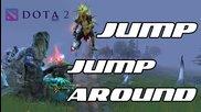 Gondar скача на тръмплин с Tiny и Tide