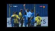 Левски - Ботев (пд) 1:0 ( синята агитка изригва след гола )