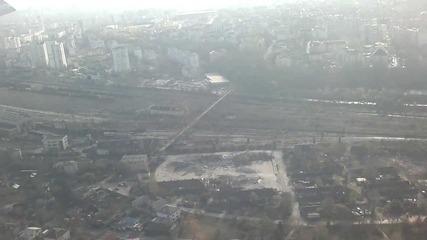 Кацане в София - Landing in Sofia