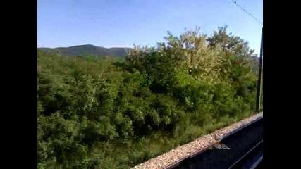 Пътуване с пътнически влак- Варна- Карнобат(2)