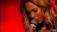 Beyonce - one plus one (1+1) (american Idol Finale Performance)