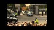 Голям гаф с лимузината на Обама