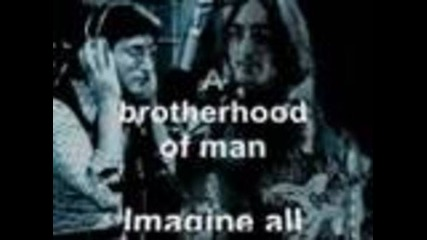 John Lennon - Imagine (текст)