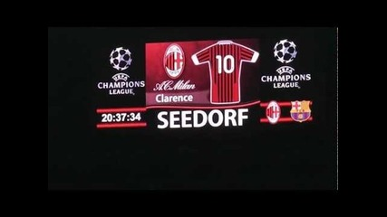 Milan Barcellona 0-0 Curva Sud Milano ''formazione Milan'' In Full Hd'' .