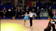 Wdsf Cambrils - European Latin 2012 - Final - Andrei Zaitsev & Anna Kuzminskaya - samba