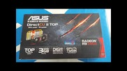 Asus R9 280x R9280x-dc2t-3gd5 review Борса Плазма