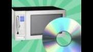 Как да си оправим диска със микровълнова фурна !