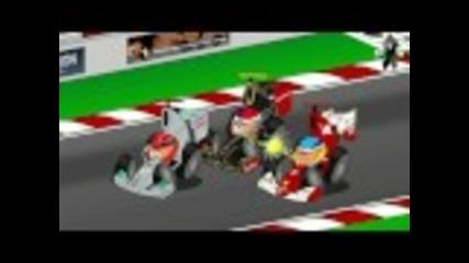 F1: Анимирана Гран При на Корея (2011)