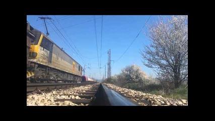Siemens Vectron на проби в България