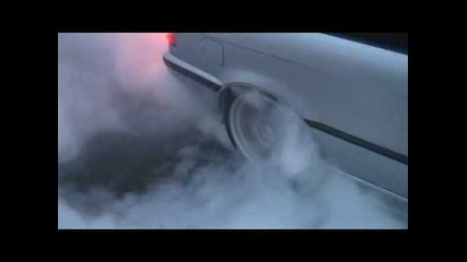 Bmw E36 328i Lsd burnout