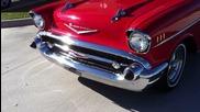 1957 Chevy Bel Air Remove Swirls by Machine