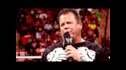 "Wwe Over the Limit: Jerry ""the King"" Lawler and Michael Cole compete in a ""kiss My Foot"" Match"