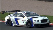 Bentley Continental Gt3 Sound Flatout on Track