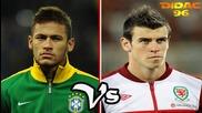 Gareth Bale Vs Neymar Junior Goles & Regates 2013 Hd