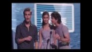 Nina, Paul and Ian Teen Choice Awards 2011