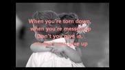 Won't Let You Go - Avril Lavigne (lyrics on screen)