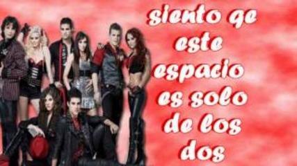 Grupo Camaleones- Solo tu solo yo + Текст