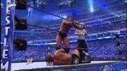 Wrestlemania 25 Randy Orton vs. Triple H