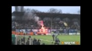 Ултрас Левски изригна след гола на Дембеле