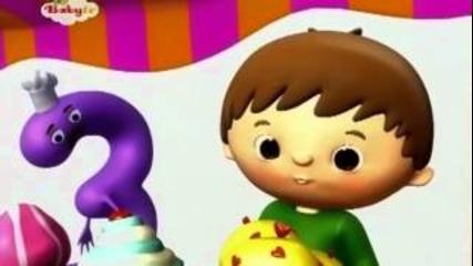 Чарли и числата - 3 / Baby Tv /