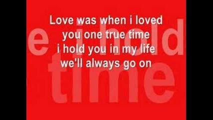 New Found Glory - My Heart Will Go On (hard Rock Кавър)