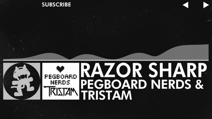 [glitch Hop / 110bpm] - Pegboard Nerds & Tristam - Razor Sharp [monstercat Release]