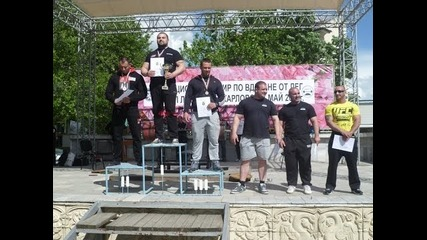 Турнир по вдигане от лег Карлово 17.05.2014