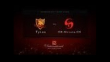 Tyloo vs Ok.nirvana.cn - Dota 2 International
