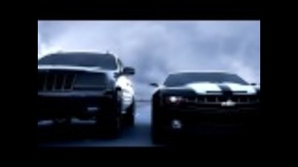 Луда гонка (ford Shelby vs. Camaro vs. Jeep vs. Лада 2107 vs. Helicopter)