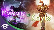 1v1 Mid: Morgana vs Kayle [rap Battle]