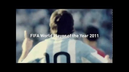 Leo Messi-fifa World Player of Year 2011