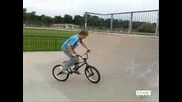 Bmx tricks, 14 year old pro!