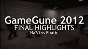 Gamegune 2012 Final Highlights fnatic vs Na'vi