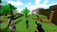 Counter Strike Source Zombie Escape mod online gameplay on ze Minecraft map