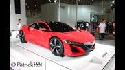 Acura/honda Nsx Conept 2013 - 11th Wuhan International Auto Ex