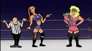 The Art of Wrestling Animated: The Silence of the Bam
