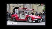 Giugiaro Brivido Concept Car Street Drive