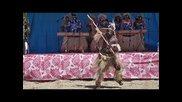 Канак мъжки танц, Нова Каледония
