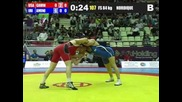 Ehsan Amini (iran) vs Keith Gavin (usa) 84kg 2012 Freestyle World Cup