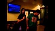 Песни, танци, пияни шматки. :)