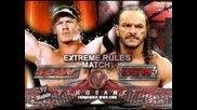 Wwe Vengeance 2006: John Cena vs Sabu Full Mat